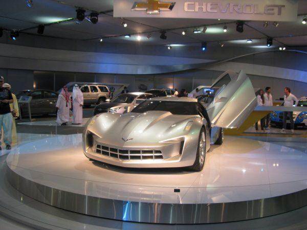 گردان نمایشگاهی خودرو